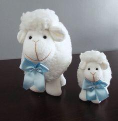 Kit ovelhas - Laço Azul ovelhinhas, chá de bebê ovelhas, chá de bebê ovelhinhas, carneirinho, carneiros, chá de bebê carneirinhos