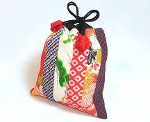 Kinchaku-bag   Handmade Japanese