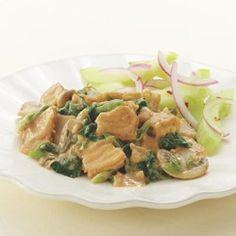 Tofu with Peanut-Ginger Sauce - EatingWell.com