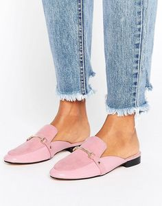 Pink Patent Mix Loafer