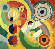 Rhythm, Joie de Vivre by Robert Delaunay
