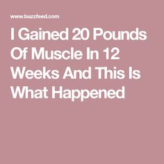 Here's my very personal journey to gain confidence. 500 Calorie Meal Plan, Free Meal Plans, How To Gain Confidence, 500 Calories, 12 Weeks, Muscle Fitness, 20 Pounds, Meal Planning, Journey