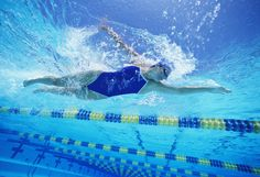 Swimming Workout For Women With Intervals | POPSUGAR Fitness