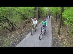 Met de witte fietsen op de Hoge Veluwe
