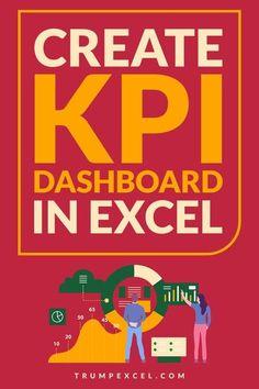 Kpi Dashboard, Dashboard Template, Microsoft Excel, Microsoft Office, Excel Formulas, Excel Hacks, Computer Basics, Educational Websites, Educational Activities