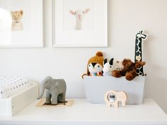 Looking for a trendier kids room color? Go with a neutral palette like Nitsa from @nitsajensen did! When she designed a nursery for her baby, Theo, she fell in love with monochromatic nurseries she found online. A subtle off-white like Eider White SW 7014 provides a calming ambiance and allows for pops of color throughout the room.