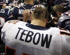 Tim Tebow, what a great guy.