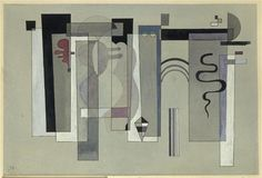 #Surfaces meeting, 1934, Wassily #Kandinsky