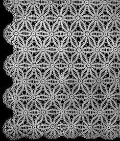 NEW! Poinsettia Bedspread crochet pattern from Bucilla Cottons Banquet Cloth & Bedspread Creations, Bernhard Ulmann Volume No. 106 from 1935.