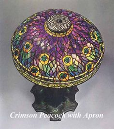 Tiffany stained glass lamp.  Maybe someday I will take on a lamp project