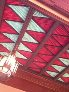 wooden ceiling @Hotel Les Deux Tours Marrakech by Helen Ellery