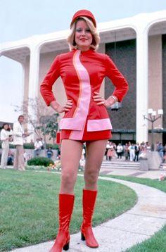 PSA flight attendant, circa 1973