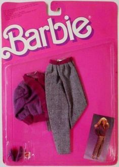 Barbie Sweater Soft Fashion Pack #4480, 1987
