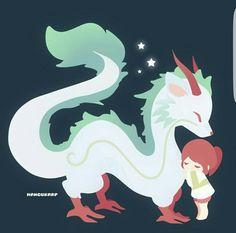 Spirited Away, cute, chibi; Studio Ghibli