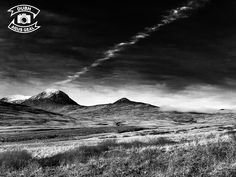 The Paps - Isle of Jura — dubh agus geal Isle Of Jura, Mount Everest, Scotland, Messages, Mountains, Black And White, Water Signs, Black N White, Black White