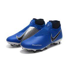 Nike Phantom Vision Elite DF FG Soccer Cleats-Blue 8318b5c366474