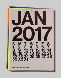 An archive of the Whitney Museum of American Art's in-house Graphic Design Department. Kids Calendar, Calendar Design, 2021 Calendar, Monthly Planner Printable, Printable Calendar Template, Design Department, Grafik Design, Graphic Design Illustration, Editorial Design