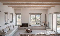 decordemon: Cycladic Island Dreaming at Rocksplit Villa by Cometa Architects