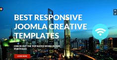 in this post we have short listed some of the Best Responsive Joomla Creative Templates which can be used by the creative people