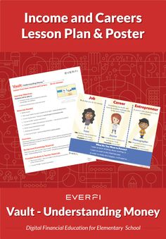 Career Readiness Activities for Elementary Students Job Career, Career Planning, Career Options, Financial Literacy, Professional Development, How To Introduce Yourself, Elementary Schools, Curriculum, Middle School