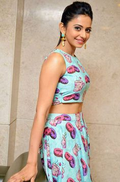 Indian Girls Villa: Rakul Preet Singh Stills At Pandaga Chesko Movie P...