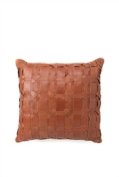 CR leather cushion (with inka)
