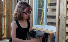 9-year-old builds shelters for the homeless; she also grows them food