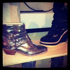 4d7dd51f4d4 Modern vice metallic booties - have them