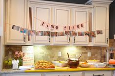 {Jessica Stout Design}: Time Flies: 1st Birthday Party