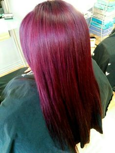 Elumen purple hair