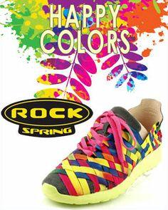 Kolekcja butów ROCK w sklepie ZEBRA Rock News, Happy Colors, Running Shoes, Sneakers, Collection, Fashion, Tennis Sneakers, Sneaker, Moda