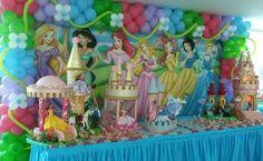 As Princesas - MariaFumaçaFestas -  (61)3563-6663 / (61)8406-2422  #MariaFumacaFestas, #mariafumacafestas