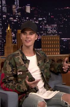 Justin Bieber At The Tonight Show Starring Jimmy Fallon