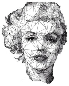 Illustration / Marilyn Monroe - [Pen] / Josh Bryan