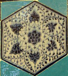 Müradiye Camii, Edirne : Single Tile Motifs – Tek Karo Motifleri