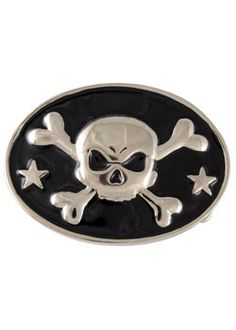Skull and Bones Buckle - Gothic accessories