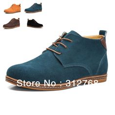 Big size 45 46 47 2013 NEW Autumn fashion men leather shoes high top casual male sneakers classic quality winter flat shoes $72.99 - 76.99