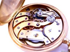 Patek Philippe , Vintage Chronometro Gondolo, Jumbo Pocket Watch, Open Face, 18k Rose Gold, Bj. 1920