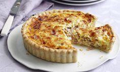 A classic Quiche Lorraine is a great standby for lunch.