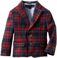 Amazon.com: Tommy Hilfiger Boys 2-7 Plaid Blazer: Clothing Plaid Blazer, Blazer Jacket, Tommy Hilfiger Toddler, Boys Closet, Kids Wear, Toddler Boys, Boy Fashion, How To Wear, Jackets