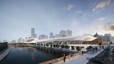 Gallery of The Flinders Street Station Shortlisted Proposal / Zaha Hadid Architects + BVN Architecture - 11