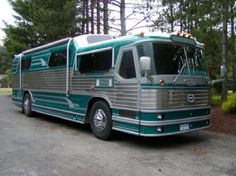 1955 Flxible Bus, turned Motorhome.