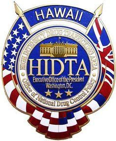 HIDTA Seal Plaque