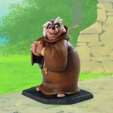 WDCC Disney Robin Hood Friar Tuck Bemused Badger Figurine