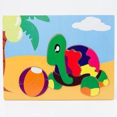 Fun puzzle turtle