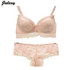 Ladies Underwear Sheer Dentelle Push Up Bra Soutien-Gorge et String Lot 34 36 38 40 42 AA AB C