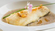 Receta de bacalao con manzanas Baked Potato, Camembert Cheese, Mashed Potatoes, Baking, Ethnic Recipes, Food, Salsa Verde, Chef, Ideas
