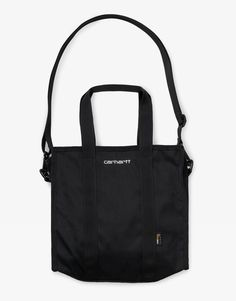 Carhartt WIP Payton Shopper Bag - Now available at streetwear webshop OnTheBlock. Fast worldwide shipping on all Carhartt WIP clothing and accessories. Carhartt Wip, Shopper Bag, Gym Bag, Reusable Tote Bags, Branding, Accessories, Black, Brand Management, Black People