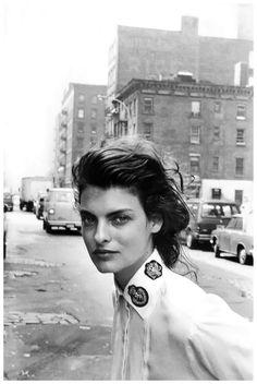 Linda Evangelista by Peter Lindbergh, 1988