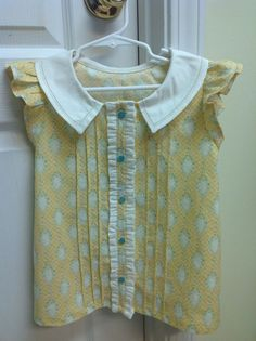 Josephine from Violette Field Threads; Size 2T through 10; dress or blouse